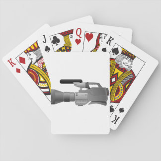 Large Video Camera Playing Cards