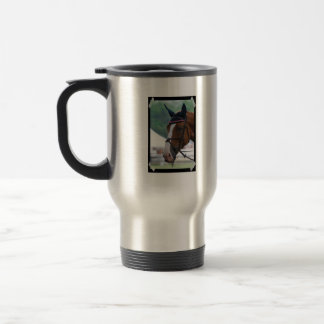 Large Warmblood Horse Travel Mug