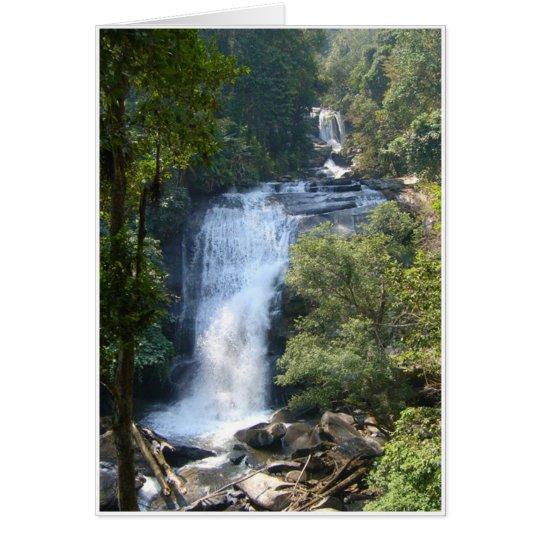 Large Waterfall Card