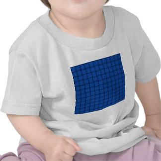Large Weave - Sapphire Tshirts