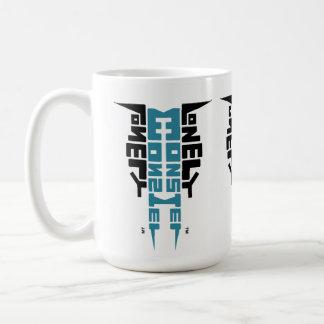 Large White Mug with Black/Teal Totem logo