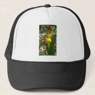 Large Yellow Lady Slipper Cypripedium Trucker Hat