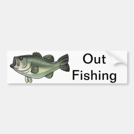 Largemouth Bass Bumper Sticker