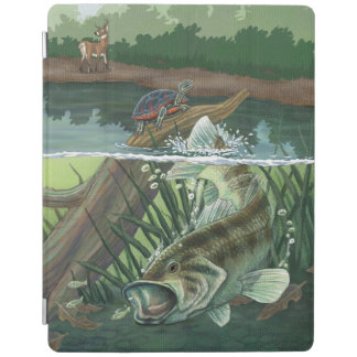 Largemouth Bass Fishing iPad Cover
