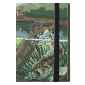 Largemouth Bass Fishing iPad Mini Cover