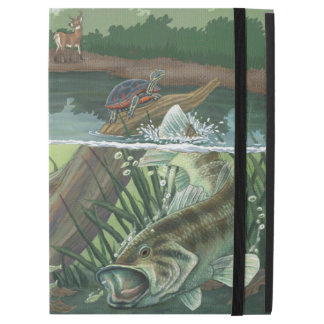 "Largemouth Bass Fishing iPad Pro 12.9"" Case"