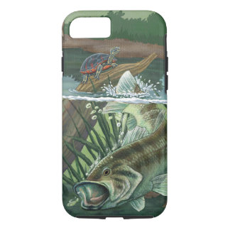 Largemouth Bass Fishing iPhone 8/7 Case