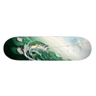 Largemouth Bass Fishing Skateboard Decks