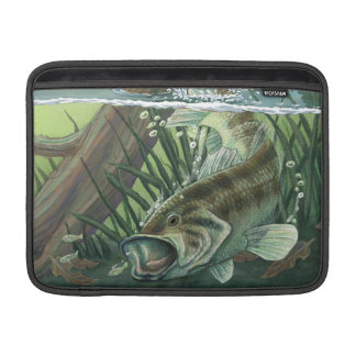 Largemouth Bass Fishing Sleeve For MacBook Air