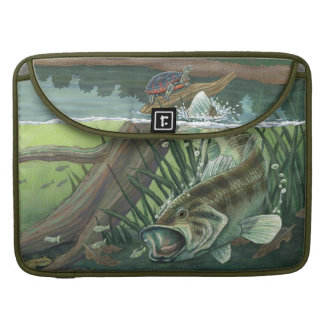 Largemouth Bass Fishing Sleeve For MacBooks