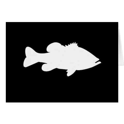 largemouth bass silhouette - photo #11