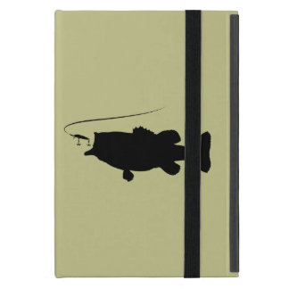 Largemouth Bass in Silhouette Case For iPad Mini