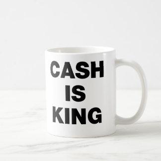 L'argent liquide est roi mugs à café