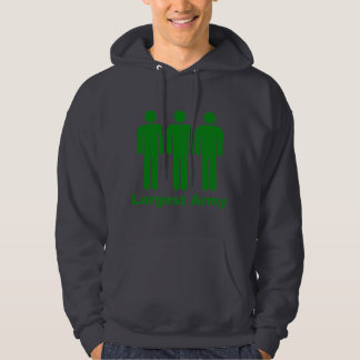 Largest Army Green Hoodie