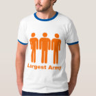 Largest Army Orange T-Shirt