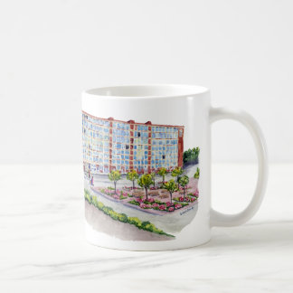 Larkin Building With Taur Cap logo Coffee Mug
