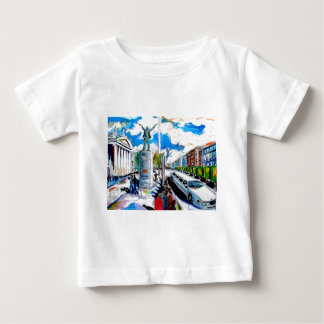 larkin monument oconnell street dublin baby T-Shirt