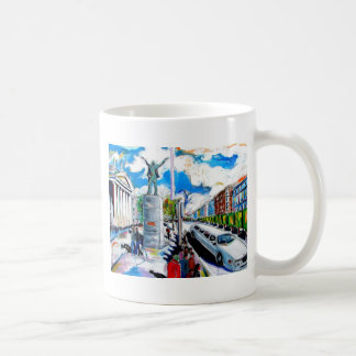 larkin monument oconnell street dublin coffee mug