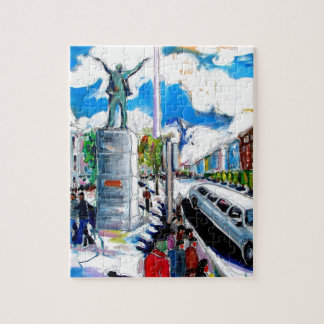 larkin monument oconnell street dublin jigsaw puzzle