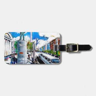 larkin monument oconnell street dublin luggage tag