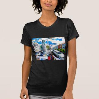 larkin monument oconnell street dublin T-Shirt