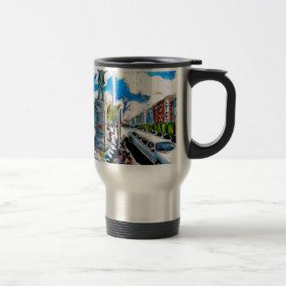 larkin monument oconnell street dublin travel mug