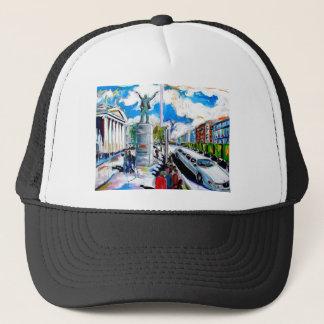 larkin monument oconnell street dublin trucker hat
