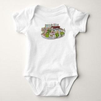 Larkin Square Baby T Shirt