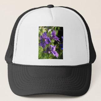 Larkspur blooms trucker hat