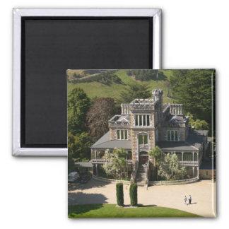 Larnach Castle, Dunedin, New Zealand - aerial Magnet