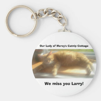 Larry Angel Keychain