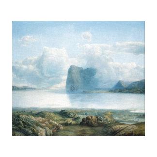 Lars Hertervig Island Borgøya Canvas Print