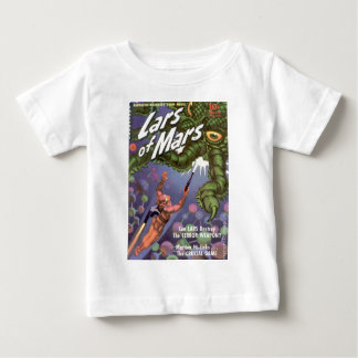 Lars of Mars and the Bug-eyed Tentacle Monster Baby T-Shirt
