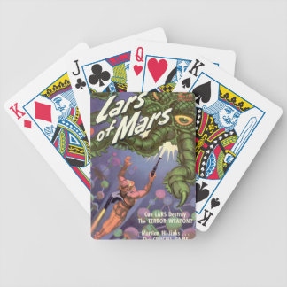 Lars of Mars and the Bug-eyed Tentacle Monster Bicycle Playing Cards