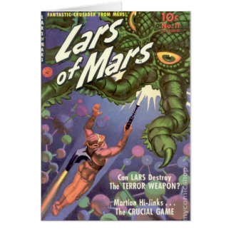Lars of Mars and the Bug-eyed Tentacle Monster Card