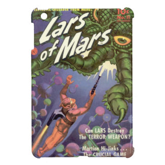 Lars of Mars and the Bug-eyed Tentacle Monster iPad Mini Cover