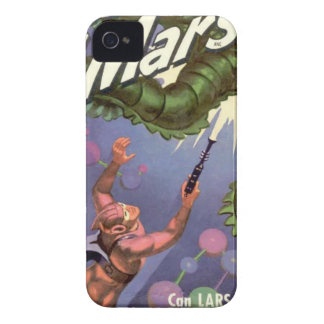 Lars of Mars and the Bug-eyed Tentacle Monster iPhone 4 Cover