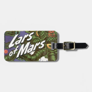 Lars of Mars and the Bug-eyed Tentacle Monster Luggage Tag