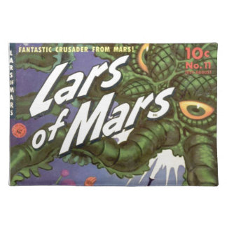 Lars of Mars and the Bug-eyed Tentacle Monster Placemat