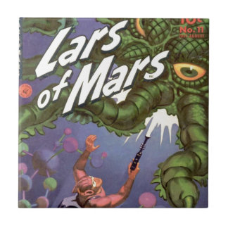 Lars of Mars and the Bug-eyed Tentacle Monster Tile