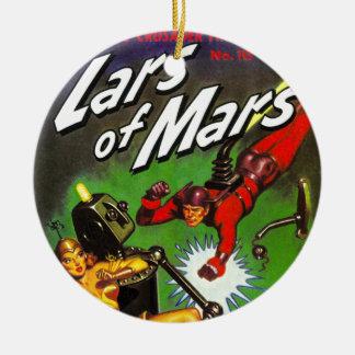 Lars of Mars Ceramic Ornament