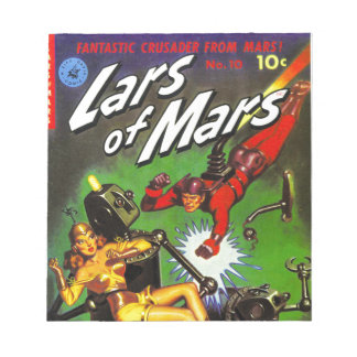Lars of Mars Notepad