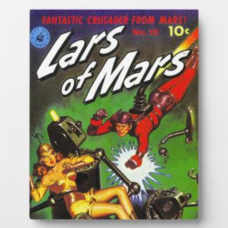 Lars of Mars Plaque