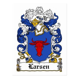 Larsen Family Crest Postcards