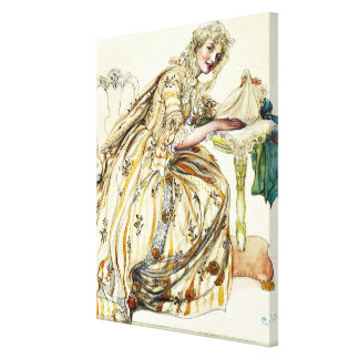 Larsson - Christmas Secret Canvas Print