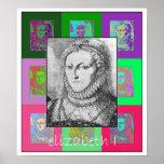 L'art de bruit Elizabeth I Affiches