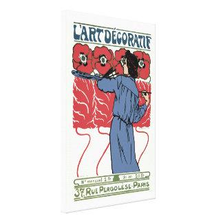 L'Art Decoratif Canvas Print