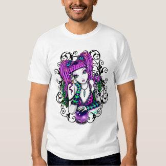 L'art féerique d'arc-en-ciel d'Emily badine le Tee-shirts