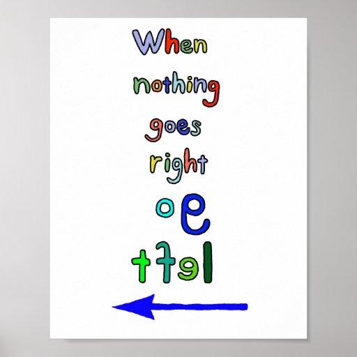 L'art typographique inspiré disparaissent affiche