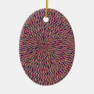 L'artiste élégant a créé l'amusement de la texture décorations pour sapins de noël
